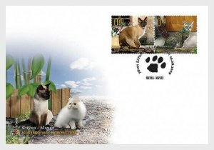 2009    BOSNIA  -  SG.  S 474 / S 477  -  CATS  -  2 X  FIRST DAY COVERS