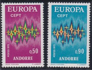 Andorra - French Issues 210-211 MNH (1972)