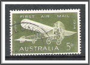 Australia #382 Anniversary First Air Mail Flight Used