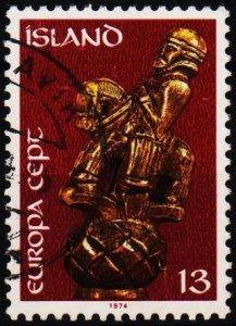 Iceland. 1974 13k S.G.527 Fine Used