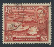British Guiana SG 319  perf 12½ Fine Used (Sc# 241 see details)
