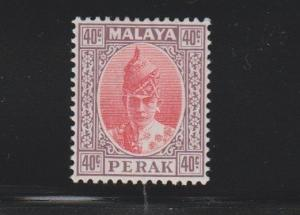 Perak Scott # 94 VF mint previously hinged with nice color cv $ 75 ! see pic !