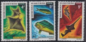 Afars and Issas 353-355 MNH (1971)