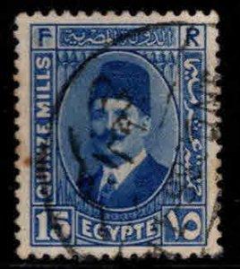 Egypt Scott 139 Used stamp