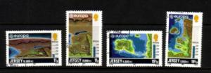 Jersey Sc 285-8 1982 Europa stamp set used
