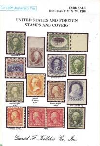 United States and Foreign Stamps and Covers, Kelleher 584
