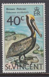St Vincent 380 Bird MNH VF