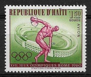 1960 Haiti C164  1.50g Olympics  MNH