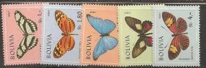 Bolivia SC C302-6 MNH