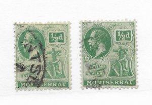 Montserrat #43 Used - Stamp CAT VALUE $2.75