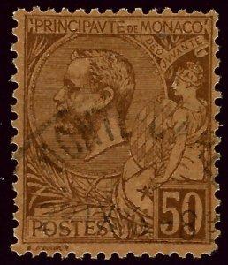 Monaco Scott #23 Used F-VF SCV$4.75...French Colonies are hot!