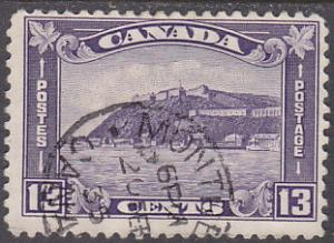 Canada 201 Hinged Used 1932 Citadel at Quebec