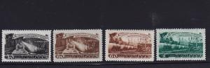 Russia Scott # 1280 - 1283 Set VF never hinged nice color cv $ 210 ! see pic !