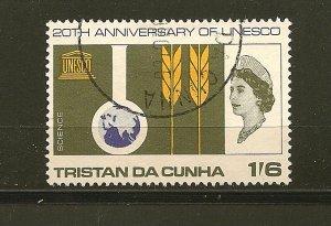 Tristan Da Cunha 102 UNESCO Anniversary Used