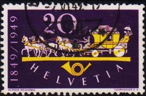 Switzerland.1949 20c S.G.501 Fine Used