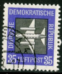 GERMANY DDR #C3, USED - 1957 - DDR009