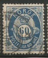Norway Scott #31 Stamp - Used Single