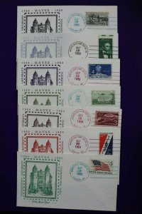 MAVEX Youngstown Univ OH 1959 51st Year Philatelic show Expo Cachet Cover