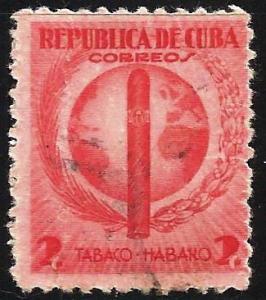 Cuba 1939 Scott # 357 Used