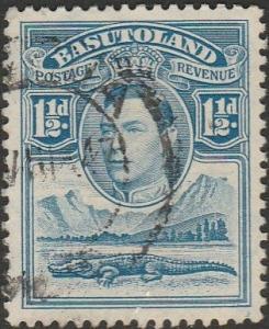 Basutoland, #20 Used From 1938