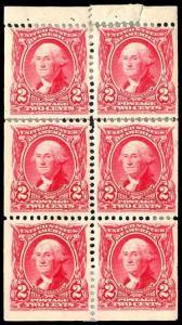 U.S. BOOKLETS & PANES 301c  Mint (ID # 81070)