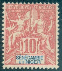 Senegambia & Niger #5  Mint  Scott $7.50   No Gum