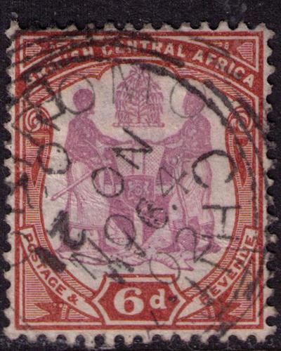 British Central Africa #  49  Used VF Chinde Cat $ 3.75+++