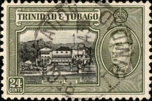 TRINIDAD & TOBAGO - 1943 -  REGISTRATION / TRINIDAD  CDS on SG253 - Ref.832e
