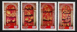 Brazil #1917-20 MNH Set - Cathedral Paintings