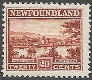 Newfoundland Scott Number 143 F H Cat C$10