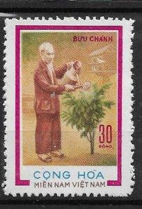 1974 Vietnam NFL 85th Ann of Birth - Ho Chi Ming  Mitchel# 54 Used