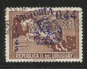 URUGUAY  C114  USED,  PEGASUS
