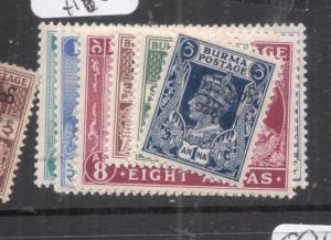 Burma SG 68-78 MOG (4dkt)