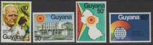 GUYANA SG694/7 1978 NATURAL SCIENCE RESEARCH COUNCIL MNH