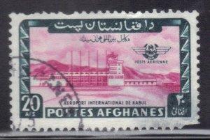 AFGANISTAN  SC # C58  20af 1964  AIRMAIL  SEE SCAN