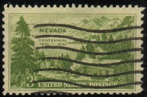 U.S.#999 - Nevada Settlement Centennial - Used (US-0194)
