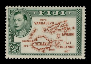 FIJI SG256c, 2½d brown and green, M MINT.