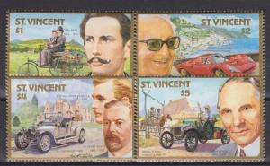 St Vincent #1044-7 MNH VF CV $6.25 (SU3686)