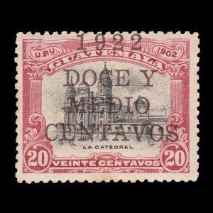 GUATEMALA STAMP 1922 SCOTT # 178. UNUSED.