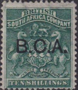 British Central Africa 1891-1895 SC 13 MLH
