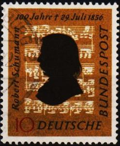 Germany. 1956 10pf  S.G.1160 Fine Used