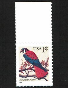 Scott #3031 variety VF-OG-NH. With copy of 2009 PF certificate.
