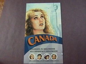 CANADA # 2154--MINT NEVER/HINGED--COMPLETE BOOKLET /FAY WRAY COVER--2006