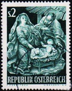 Austria.1963 2s S.G.1409 Fine Used