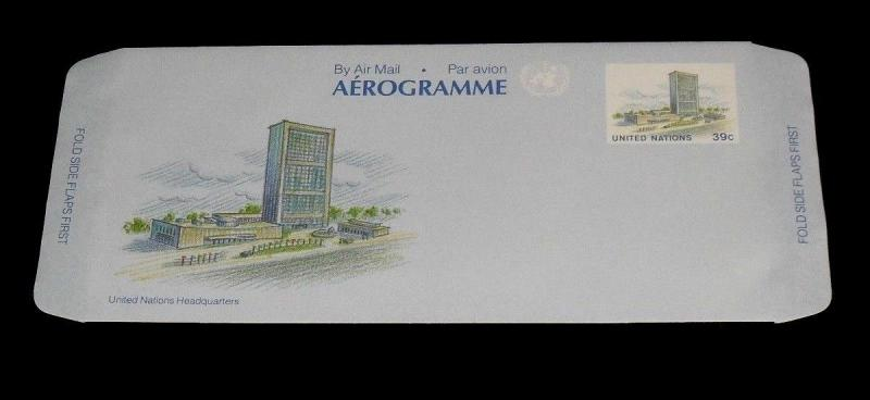 U.N.1989, NEW YORK #UC16, AIR LETTER SHEET ,MNH, NICE!! LQQK!!!