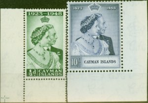 Cayman Islands 1948 RSW set of 2 SG129-130 V.F MNH