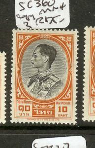 THAILAND (P1502B) KING 10B  SC360   MNH