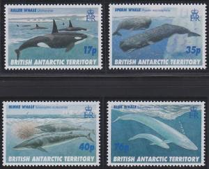 British Antarctic Territory 244-247 MNH (1996)
