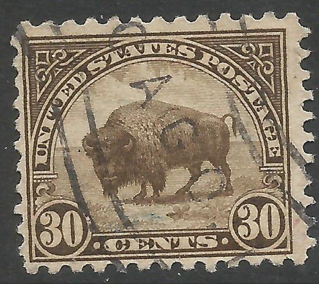 UNITED STATES 569 VFU BUFFALO 1038D