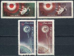 Vietnam 1963 MNH Stamps Scott 251-254 Space Mars